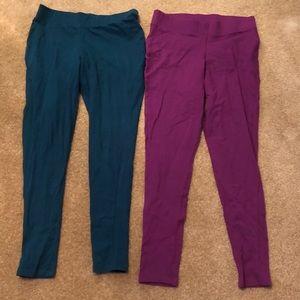 2 pairs of Torrid leggings